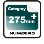 275mm+ Race Numbers